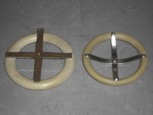 Transformación del volante. Aro de madera y chapa de 1m - Steering wheel transformation. Wooden ring and metal sheet 1mm