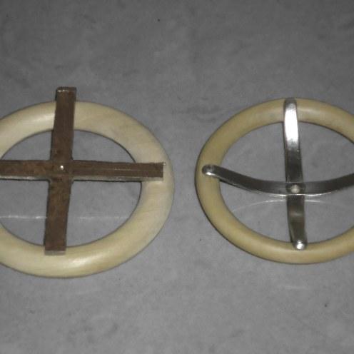 Transformación del volante. Aro de madera y chapa de 1m - Steering wheel transformation. Wooden ring and metal sheet 1mm