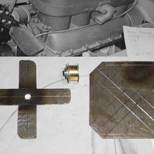 Comenzando con el ventilador. Palas y eje - Starting with the fan. Blades and hub