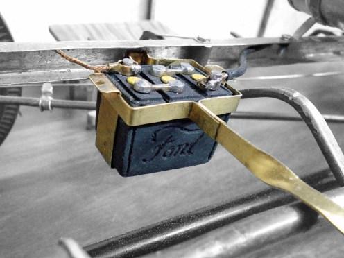 Batería conectada - Battery connected