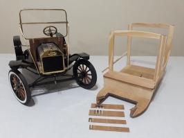 Trabajo en madera de la carrocería - Wood body work